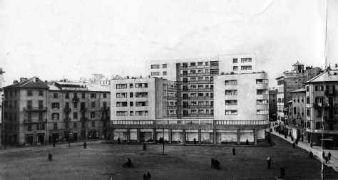 Anni Cinquanta: si progetta il nuovo quartiere residenziale al posto dei pubblici uffici.