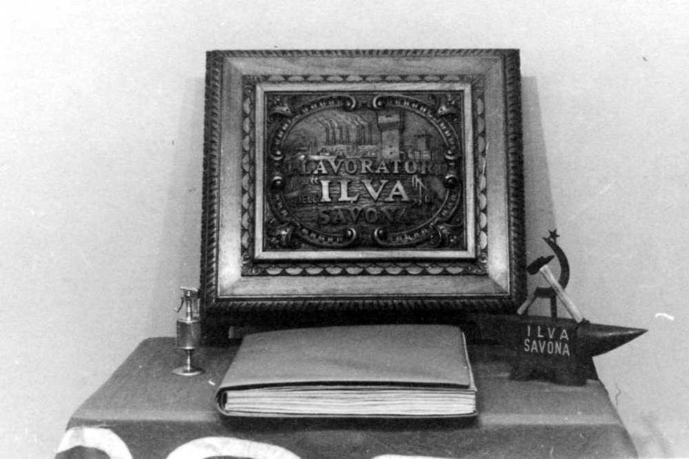 """Il """"libro"""" dell'ILVA, oggi perduto."""