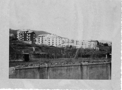 Il primo complesso di palazzine di Piazzale Moroni.
