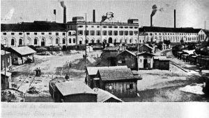 1910: lo stabilimento e la zona del porto.