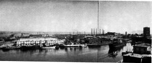 Nelle due immagini: lo skyline di Savona stava rapidamente scambiando (inizio XX secolo).